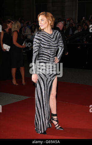 London, UK, 2nd September 2014: Lindsay Lohan attends the GQ Men of the Year awards at The Royal Opera House in - Stock Photo