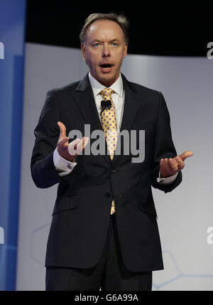 BMW electric car launch - Stock Photo