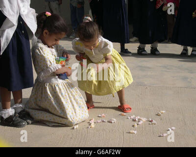 Primary School in Iraq - Stock Photo