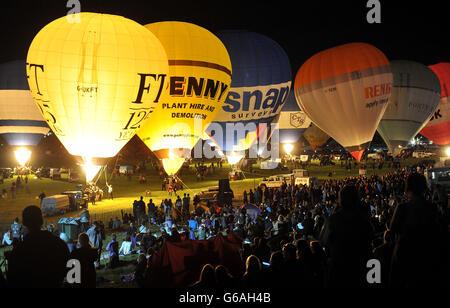 Bristol International Balloon Fiesta 2013 - Stock Photo