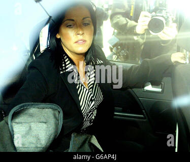Jessie Wallace - Court - Stock Photo