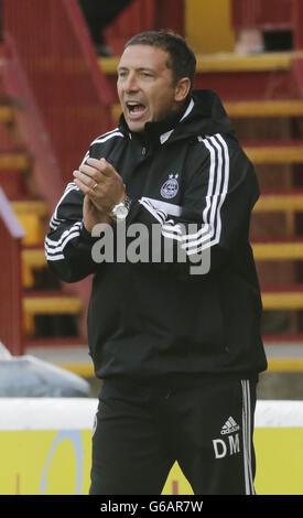 Soccer - Scottish Premiership - Motherwell v Aberdeen - Fir Park - Stock Photo