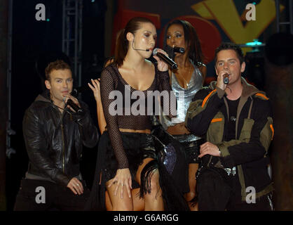 Liberty X - Fox Kids planet pop - Stock Photo