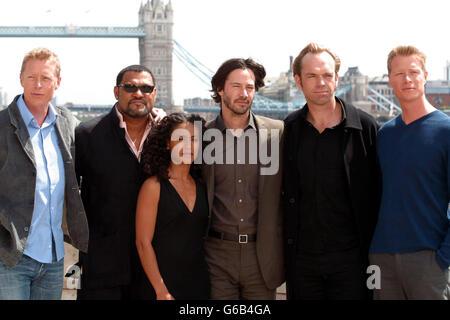 The Matrix Cast - Stock Photo