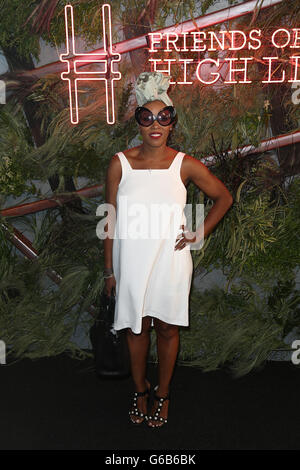 New York, USA. 22nd June, 2016. June Ambrose attends the 2016 Coach And Friends Of The High Line Summer Party at - Stock Photo