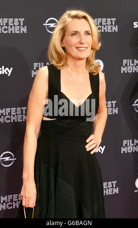 Munich, Germany. 23rd June, 2016. Actress Maria Furtwaengler arrives for the screening of the film 'Toni Erdemann' - Stock Photo