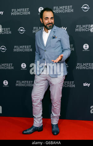 Munich, Germany. 23rd June, 2016. Actor Adnan Maral arrives for the screening of the film 'Toni Erdemann' during - Stock Photo