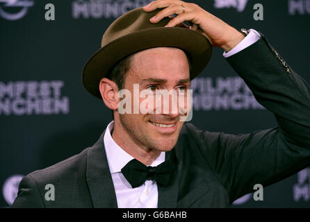 Munich, Germany. 23rd June, 2016. Comedian Harry G arrives for the screening of the film 'Toni Erdemann' during - Stock Photo