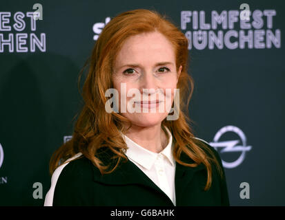 Munich, Germany. 23rd June, 2016. Actress Sibylle Canonica arrives for the screening of the film 'Toni Erdemann' - Stock Photo