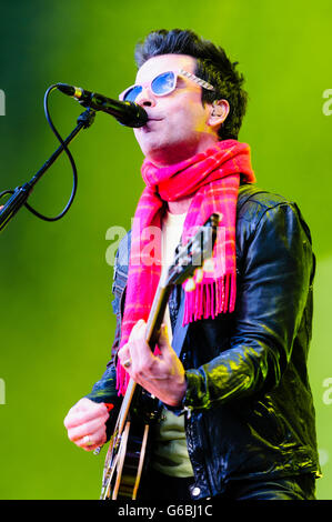 Belfast, Northern Ireland, UK. 29th June, 2016. Lead singer Kelly Jones from the Welsh rock band Stereophonics, - Stock Photo