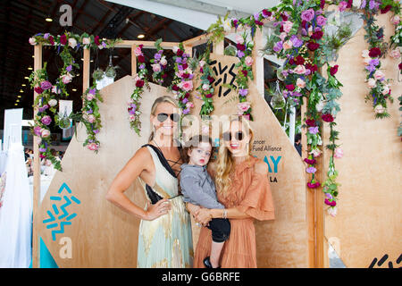 SANTA MONICA, CA - JUNE 11: Molly Sims and Rachel Zoe attend Ovarian Cancer Research Fund Alliance's 3rd Annual - Stock Photo