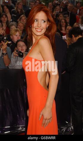 Amy Nuttall Soap Awards - Stock Photo