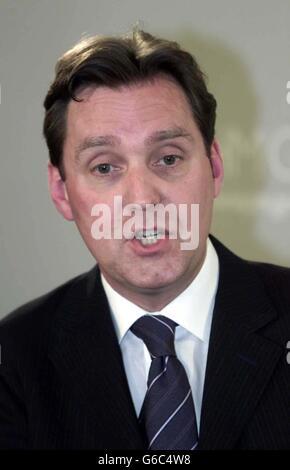 Alan Milburn Foreign Press Assoc - Stock Photo