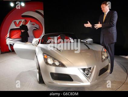 Vauxhall Unveil the VX Lightning - Stock Photo