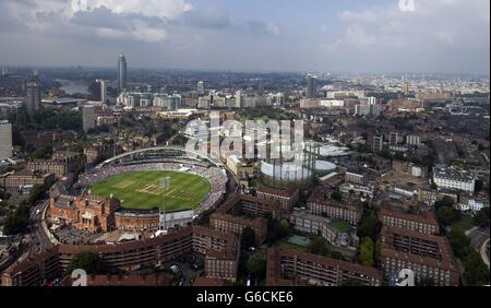 Cricket - Fifth Investec Ashes Test - Day Five - England v Australia - The Kia Oval - Stock Photo
