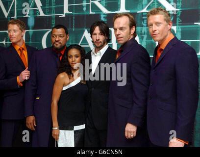 Matrix Reloaded cast - Stock Photo