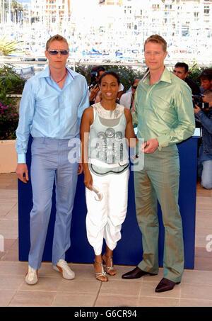 Rayment Twins Pinkett-SmithCannes - Stock Photo