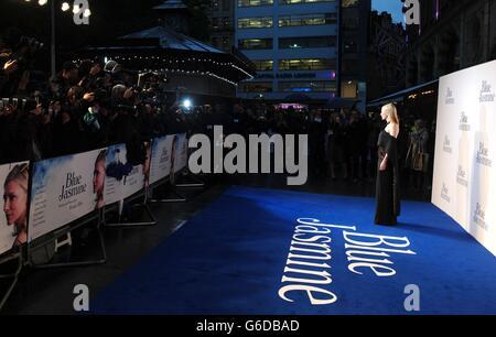 Blue Jasmine Premiere - London - Stock Photo