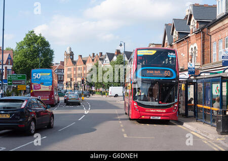 St Mary's Row, Moseley Village, Moseley and Kings Heath, Birmingham, West Midlands, England, United Kingdom - Stock Photo