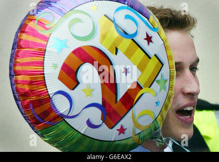 Prince William - Wales Visit - Stock Photo