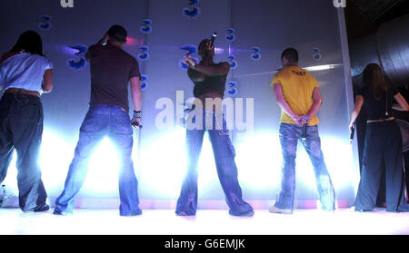 Liberty X video auditions - Stock Photo
