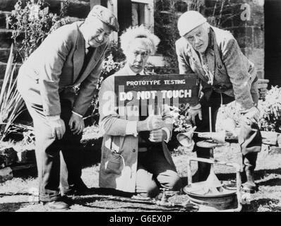 Television - BBC - Last of the Summer Wine - Holmfirth, West Yorkshire - Stock Photo