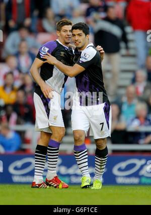 Soccer - Barclays Premier League - Sunderland v Liverpool - Stadium of Light - Stock Photo
