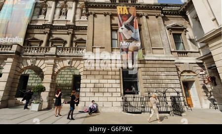 Royal Academy of Arts' Keeper's House - Stock Photo