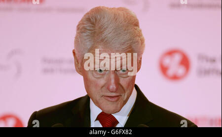 Bill Clinton visits Republic of Ireland - Stock Photo