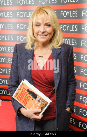 Helen Fielding 'Bridget Jones - Mad About The Boy' signing - London - Stock Photo