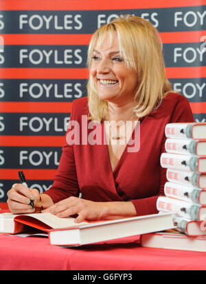 Helen Fielding 'Bridget Jones - Mad About The Boy' signing - London - Stock Photo
