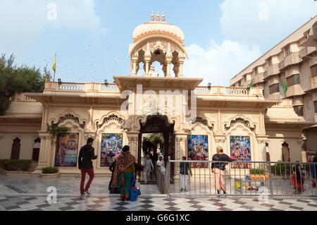 Sri Krishna-Balaram Temple - Stock Photo