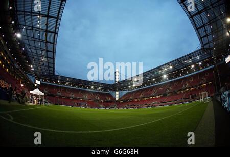 Soccer - FIFA World Cup Qualifying - Group C - Germany v Republic of Ireland - Rhein Energie Stadion - Stock Photo