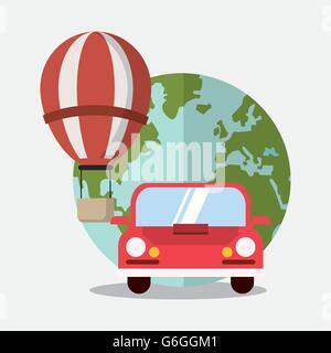 travel and vacations design , vector illustration - Stock Photo