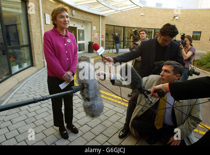 Gordon Brown becomes a father - Stock Photo