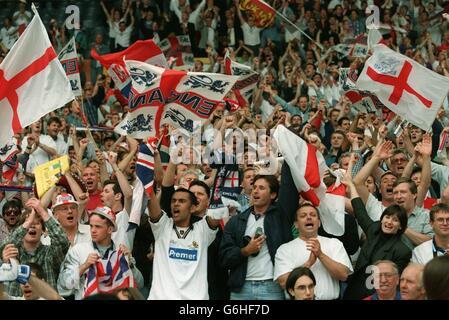 SOCCER - Euro 96 -England v Spain, Wembley