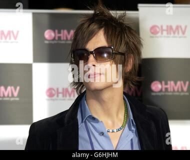 Fame Academy opens HMV Music Store - Stock Photo