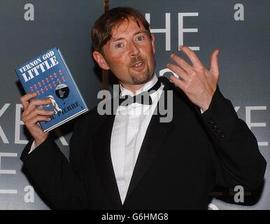 Peter Finlay - Booker Prize - Stock Photo