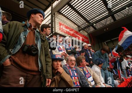 France v Netherlands (Holland) Euro 96 soccer