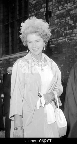 Queen Frederika of Greece - Stock Photo
