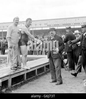 1908 Olympic Games London - Stock Photo