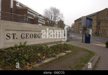Wessex baby St. George's Hospital - Stock Photo