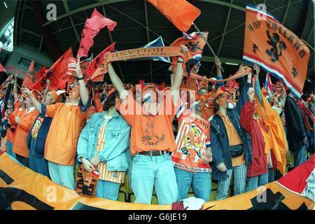 EURO 96 - SOCCER - France v Netherlands (Holland)