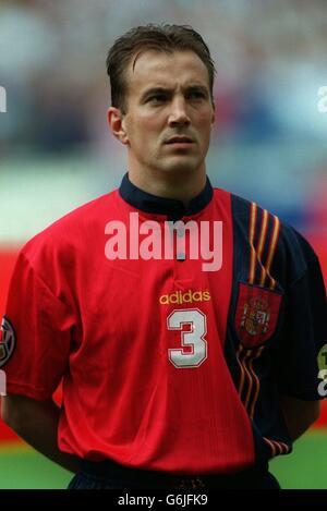 Soccer, Euro 96. England v Spain, Wembley. Alberto Belsue, Spain
