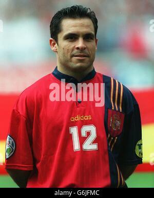 Soccer, Euro 96. England v Spain, Wembley. Sergi Barjuan, Spain