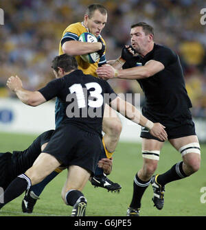WORLDCUP New Zealand v Australia - Stock Photo