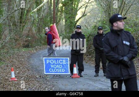 Alicia Eborne body found - Stock Photo