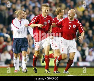 England v Denmark - Stock Photo