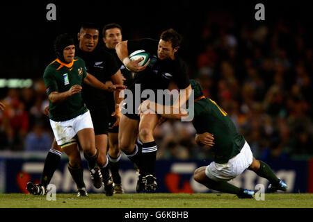 RWC New Zealand v South Africa - Stock Photo