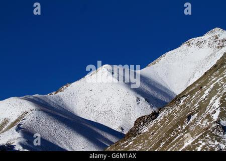 Himalayan mountains in Ladakh, India. Hemis High Altitude National Park. - Stock Photo